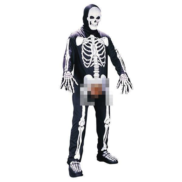 Bone-in Skeleton Costume
