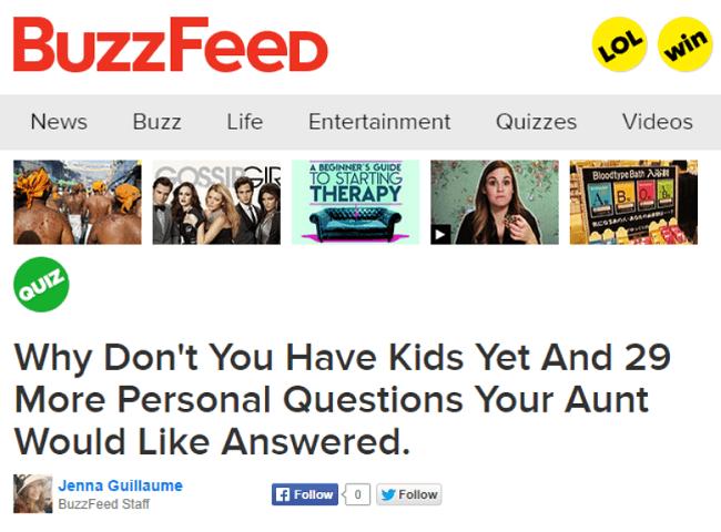 quiz buzzfeed