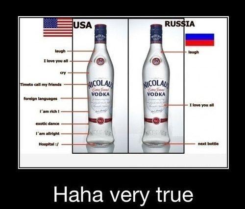 Americans Versus Russians