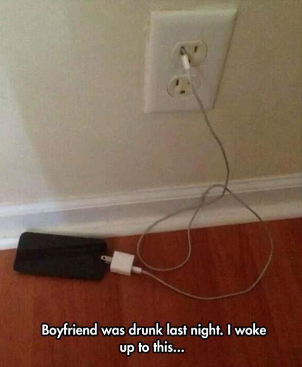 Boyfriend Was Drunk