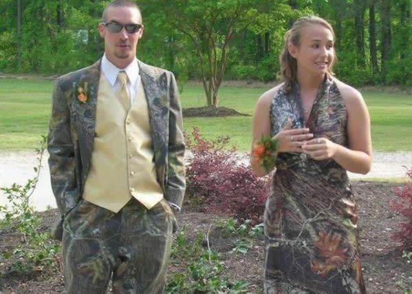 Camo Prom Photo Fails