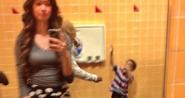 Child Abuse Selfie