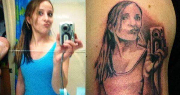 Selfie Tattoo