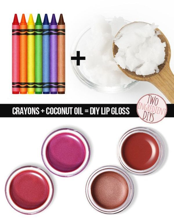 diy projects crayon lipstick