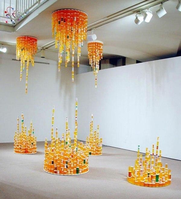 diy-projects-pill-bottle-chandelier
