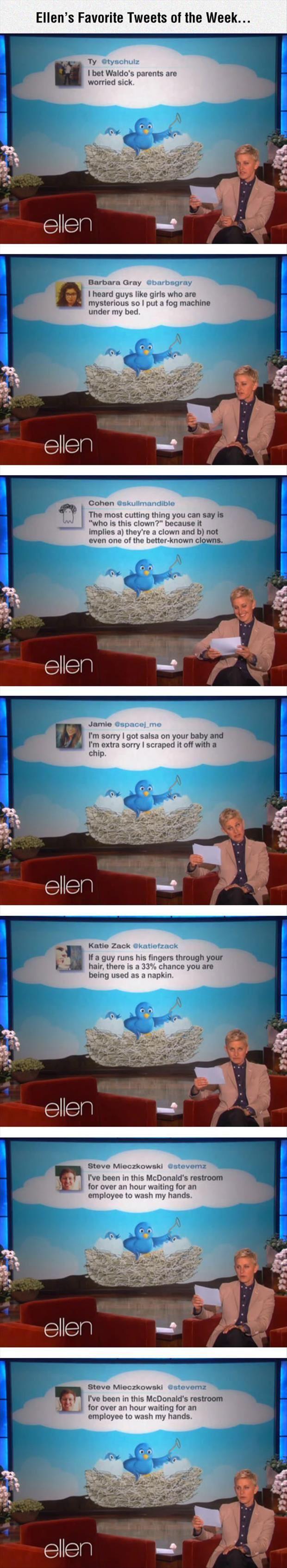 Ellen Tweets