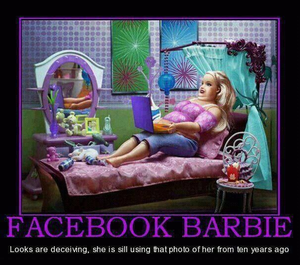 Facebook Barbie
