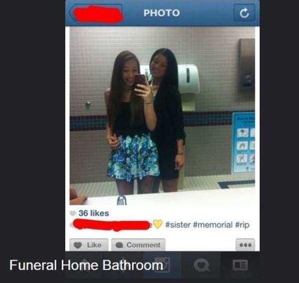 Funeral Home Bathroom