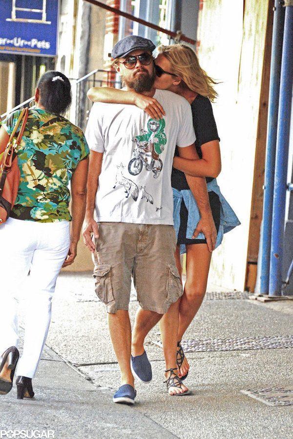 Leonardo DiCaprio With Toni Garrn
