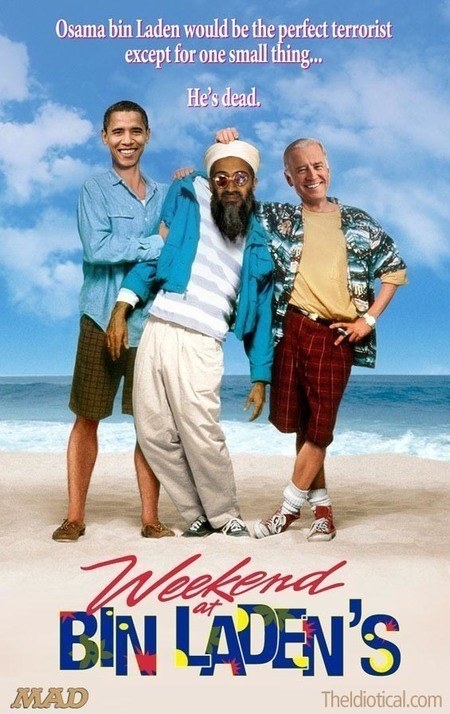War reboots: Weekend at Bin Laden's