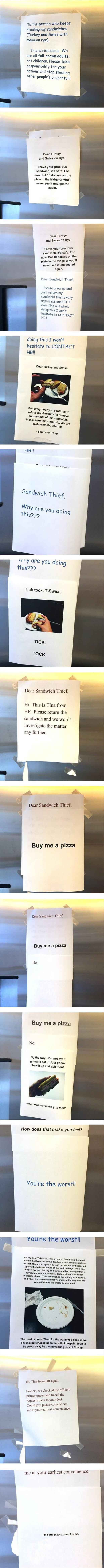 Sandwich Thief