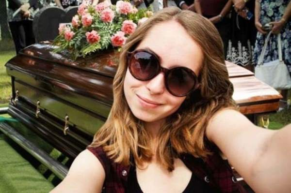 Selfie At A Funeral
