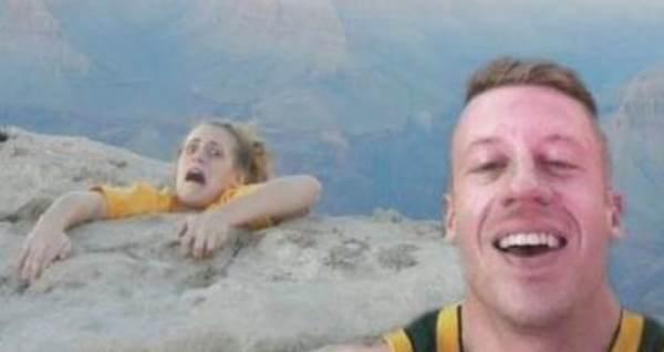 Selfie Fail