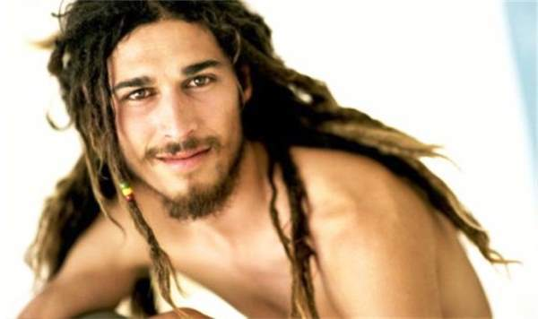 Smiling Dude With Dreads
