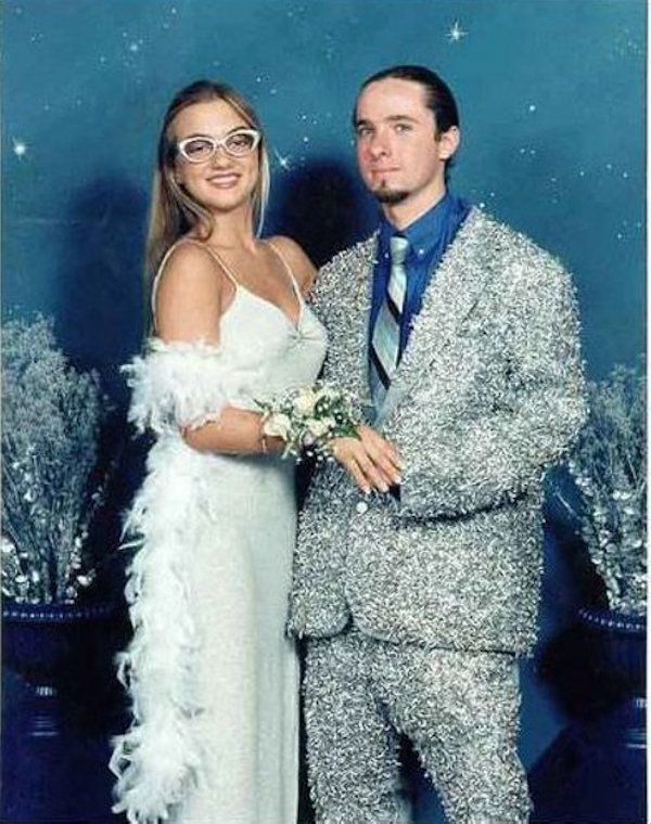 Sparkly Prom Tux