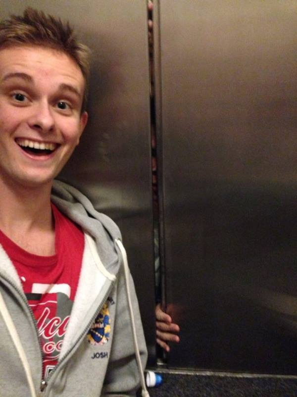 Trapped In The Elevator