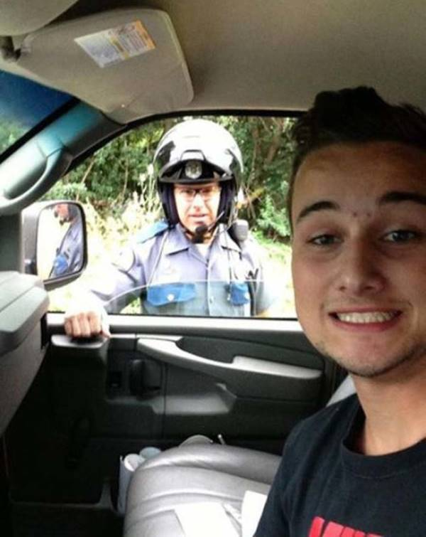 Worst Selfies Pulled Over