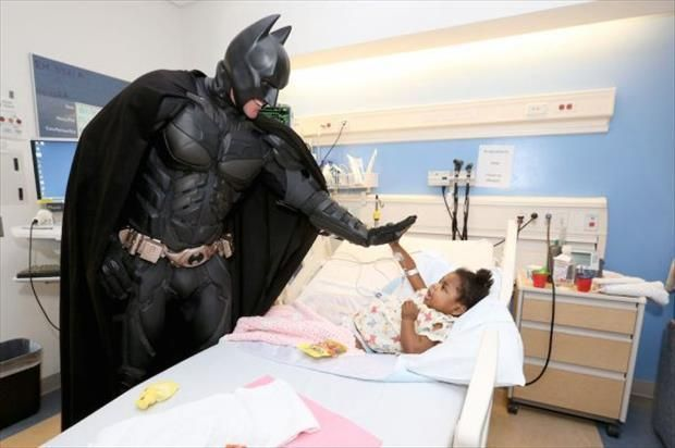 Batman High Five Restore Your Faith In Humanity