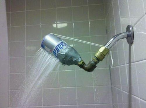 Beer Can Shower