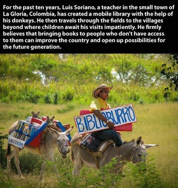 Biblio Burro Restore Your Faith In Humanity