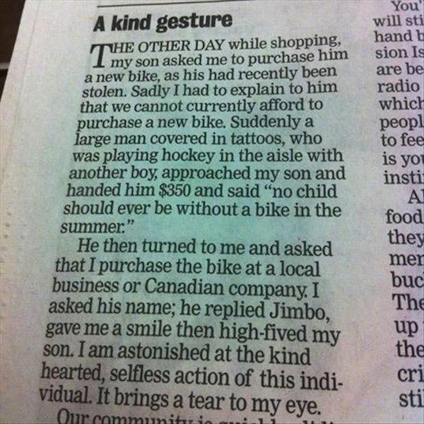Bikers Buying Bikes