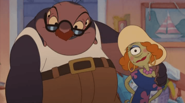 Lilo and Stitch Jumba and Pleakley