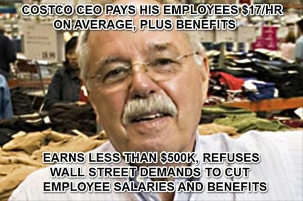CostCo CEO