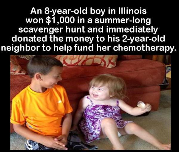 Chemo Fundraiser Faith In Humanity Restored