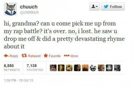 Funny Tweets Rap Battle