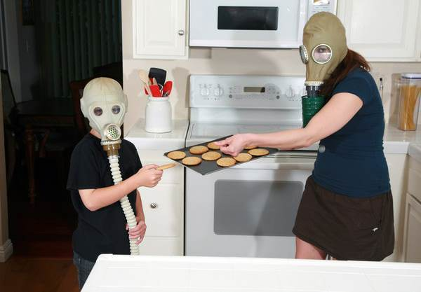 Gas Mask Cookies