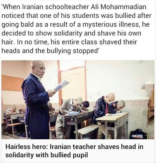 Iranian School Teacher