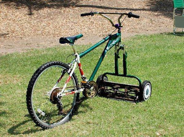 Lawn Mower Bike