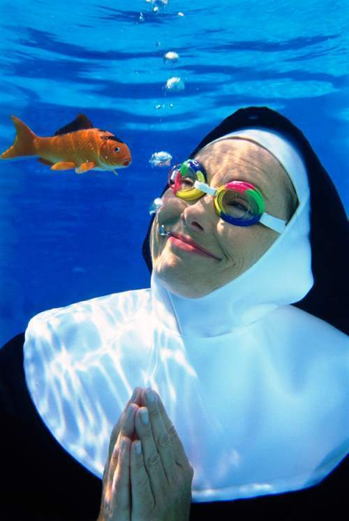 Nun Stock Image