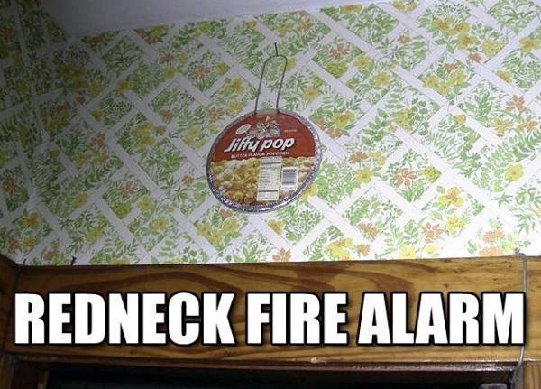 Redneck Inventions Fire Alarm