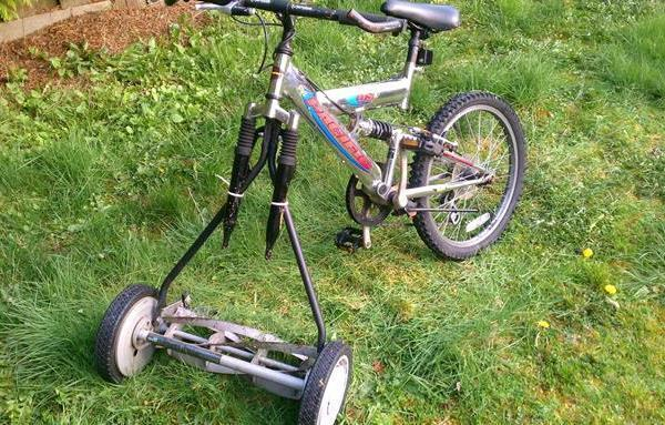 Redneck Inventions Lawn Mower