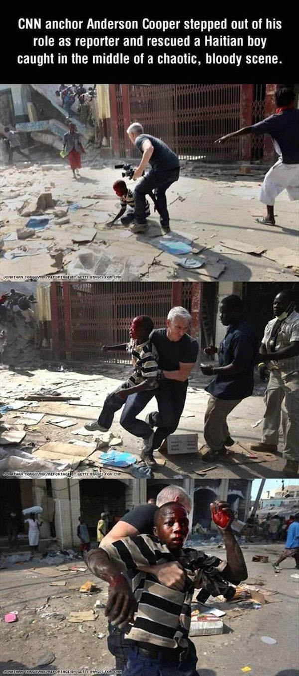 Anderson Cooper Restore Your Faith In Humanity