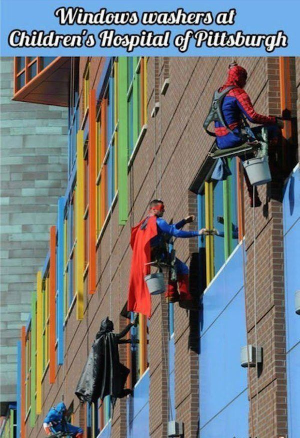 Restore Your Faith In Humanity Window Washers