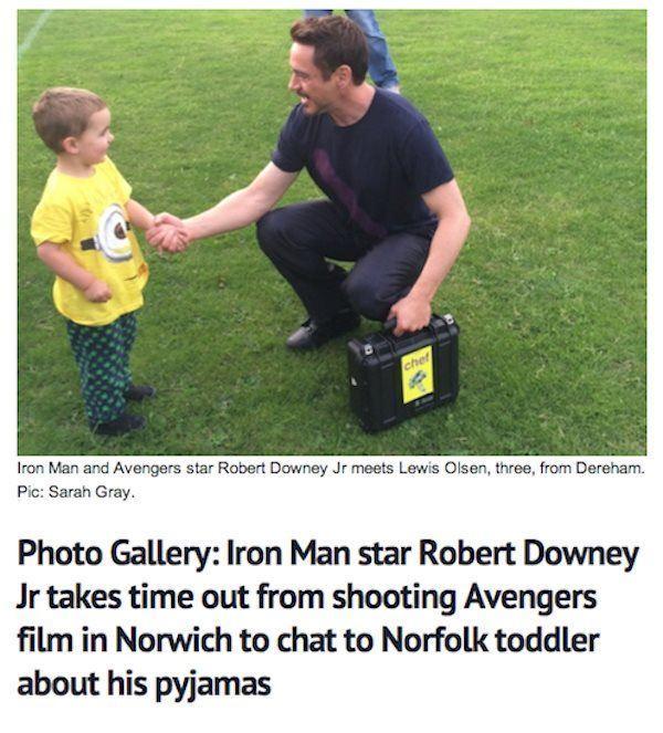 Rober Downey Junior