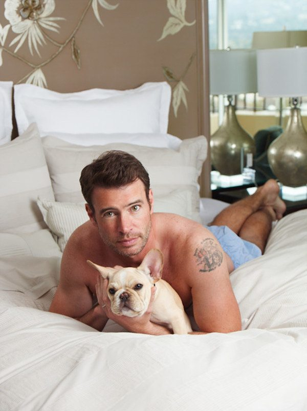 Scott Foley With Puppy