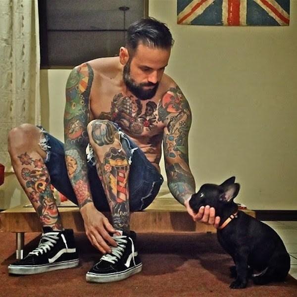 Tattoos And Bulldogs