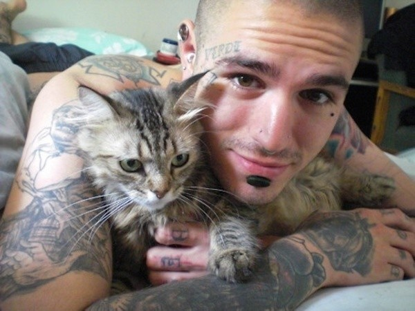 Soul Patch And Cat