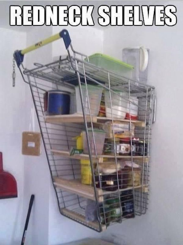 Shopping Cart Shelves