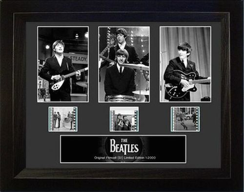 Framed Film Cells of The Beatles