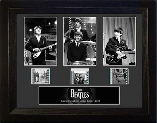 Framed Film Cells of The Beatles