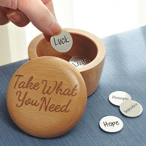 Take What You Need Inspiration Box