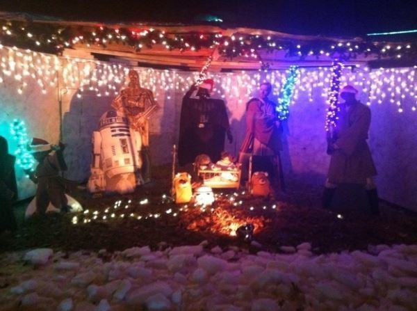 Star Wars Nativity Scene Picture