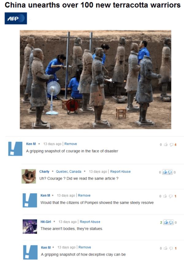 Terracotta Warriors Troll