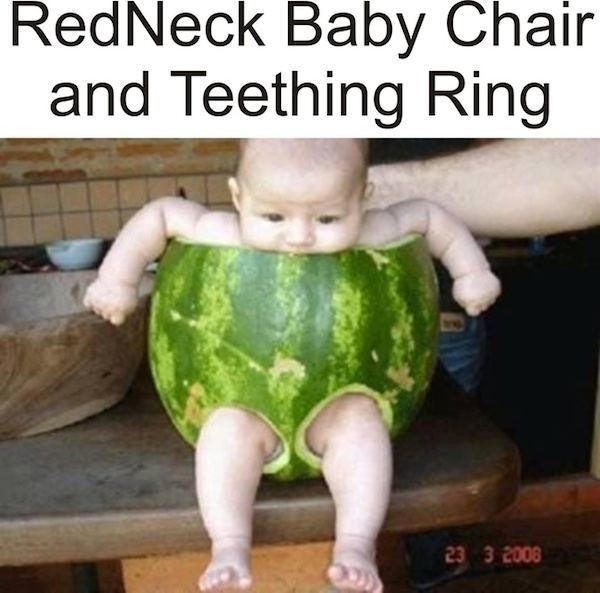 Watermelon Baby Chair