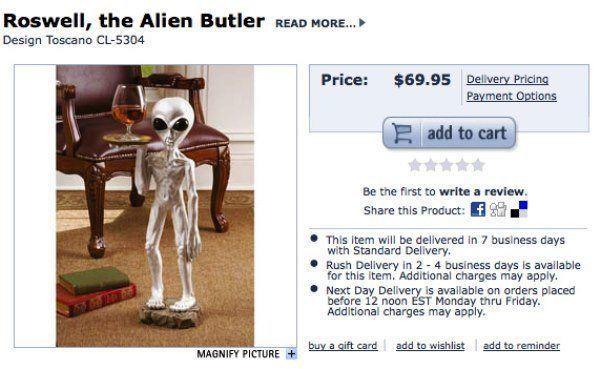 Alien Butler