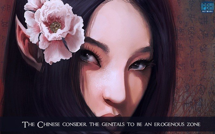 Chinese Consider The Genitals To Be An Erogenous Zone